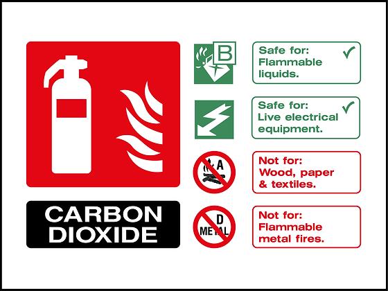 Fire Extinguisher - Carbon Dioxide