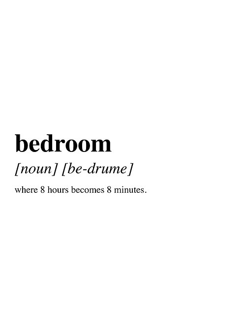 What is a Bedroom?