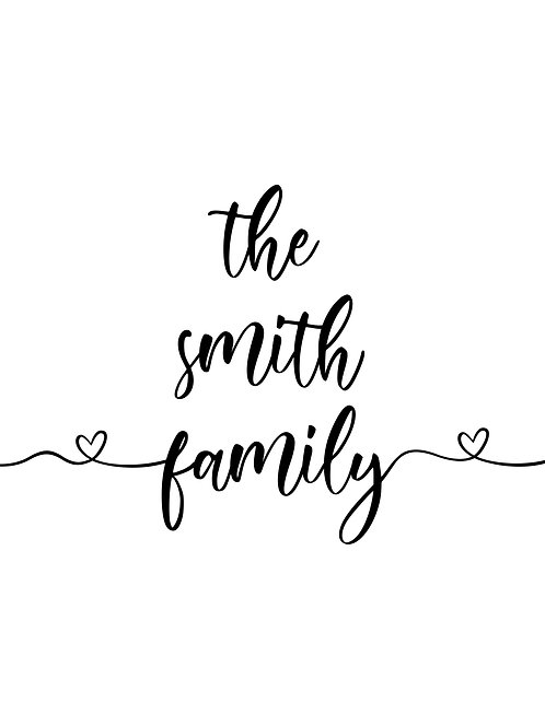 The ___ Family