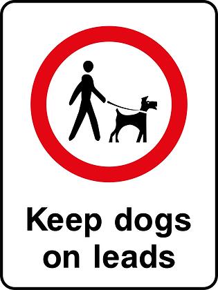 Keep Dogs on Leads