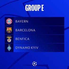 UEFA Champions' League Group E Preview
