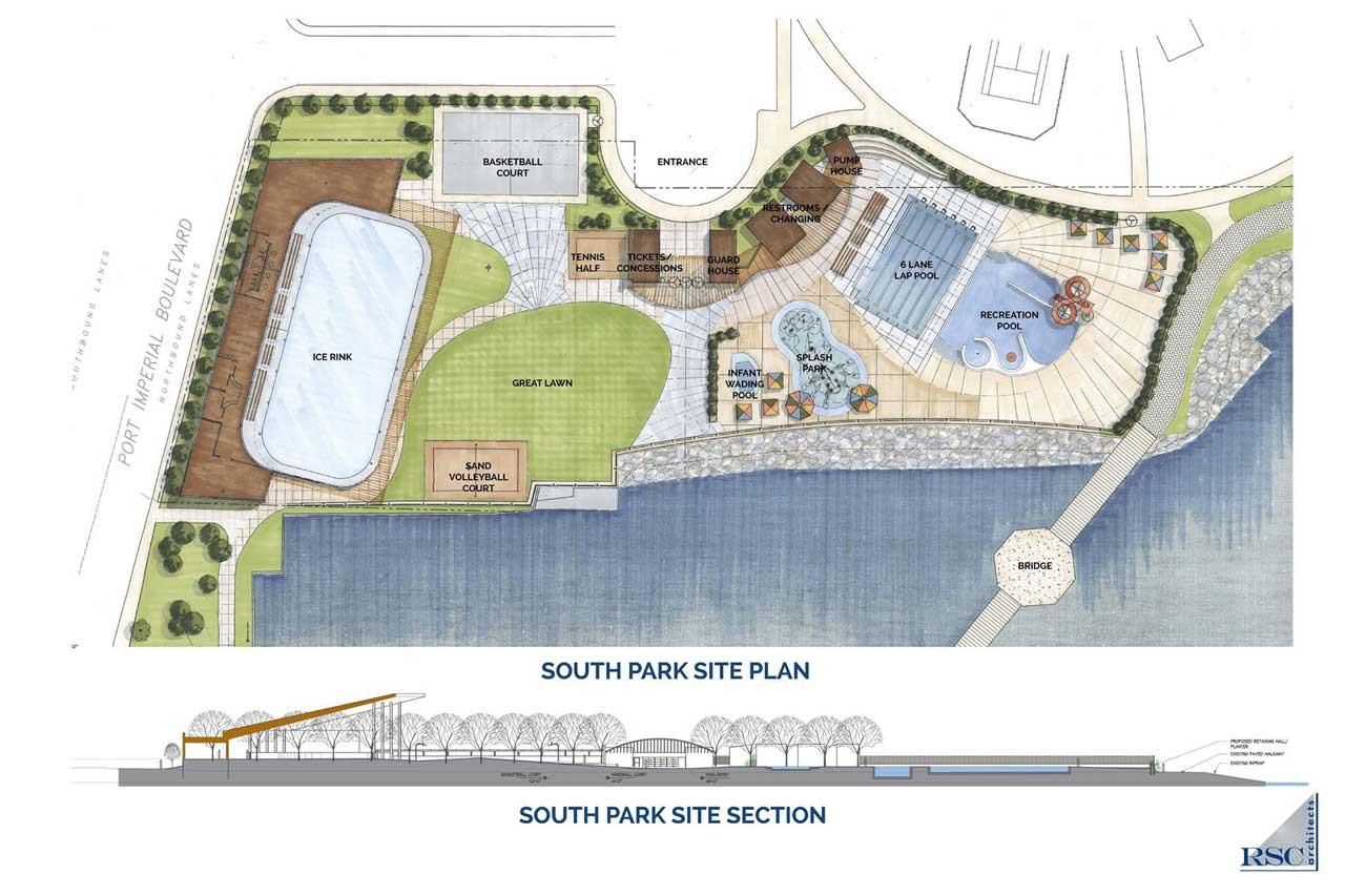 Weehawken Waterfront Recreational Park