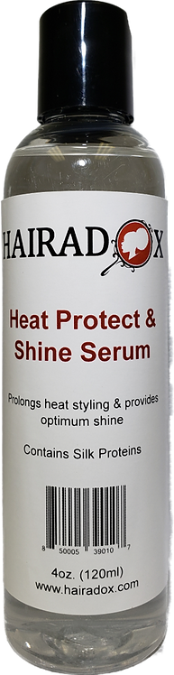Heat Protect & Shine Serum - 4oz.