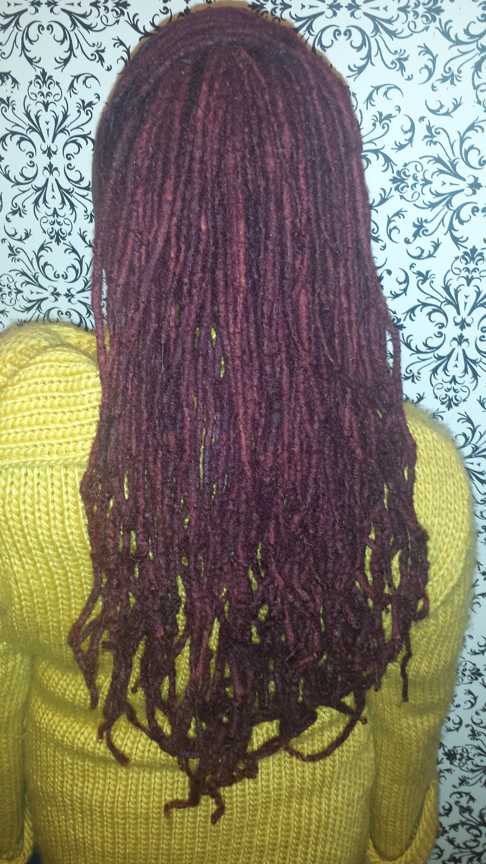 loc hair color
