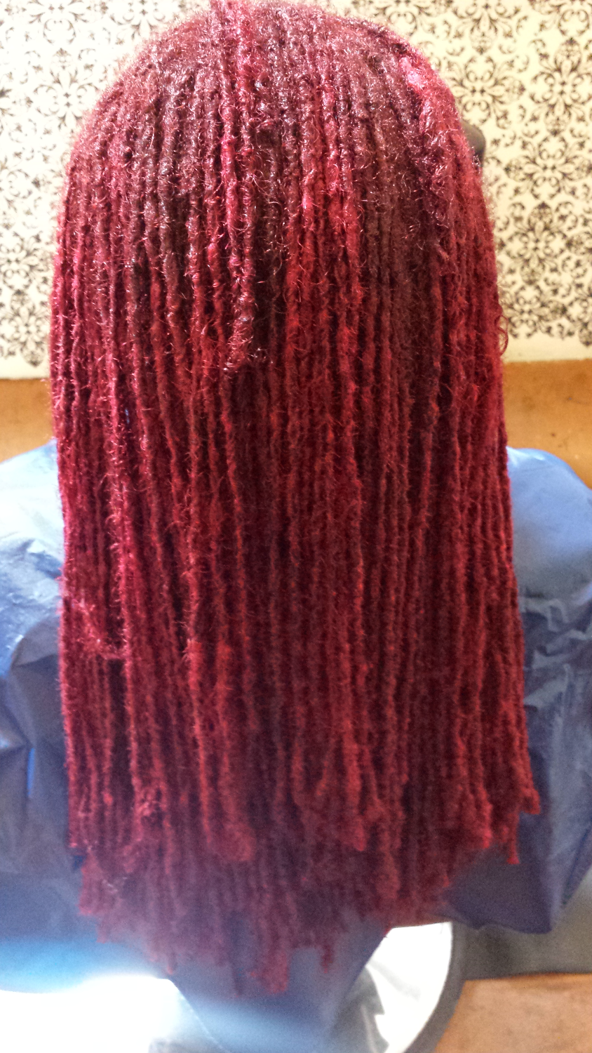 hair color for locs