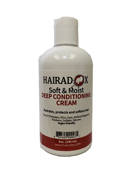 Soft & Moist Deep Conditioning Cream - 8oz