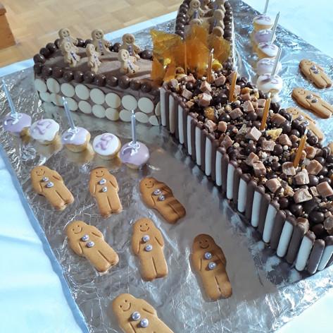 25th Church birthday cake
