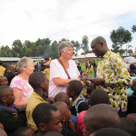 Trip to Rwanda with Sandhurst School