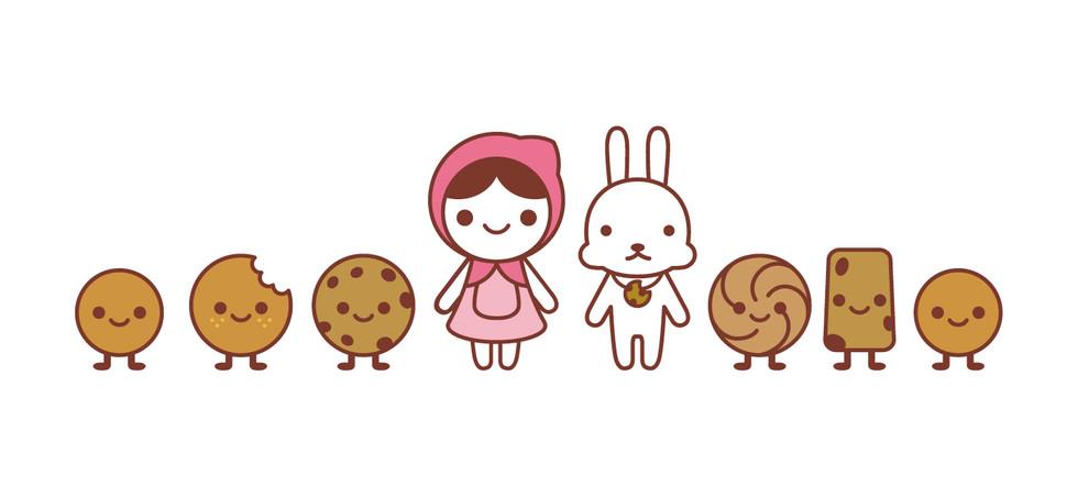 ICookie Mascot Design& Packaging 1