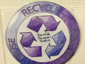 Year six recycling campaign