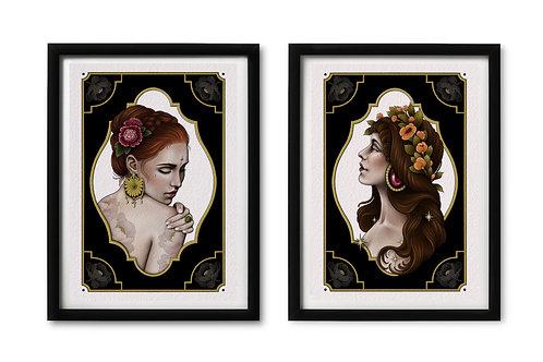 ✶ Print Set Ladys ✶