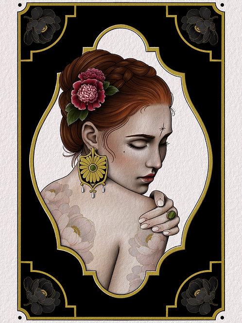 ✶ Print Tattooed Lady ✶