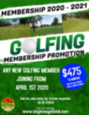 Membership promo 2020 - 2021 - Made with