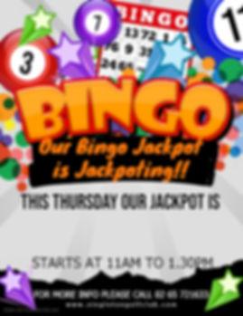Copy of Bingo Flyer - Made with PosterMy