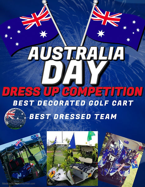 Copy of Australia Day Party Flyer Design
