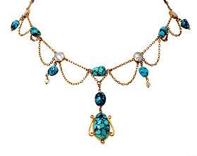 ART NOUVEAU Turquoise Necklace.jpg