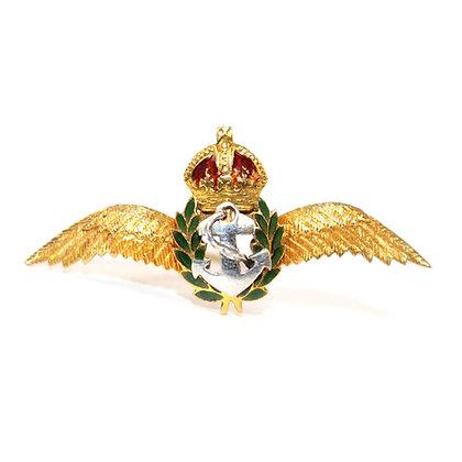 Art Deco Naval Cap Badge