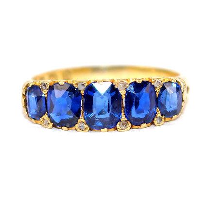 Victorian Sapphire Ring