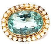 Victorian-15ct-Aquamarine-Pearl-Brooch-1