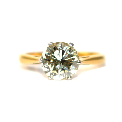 Diamond 2 Carat Engagement Ring
