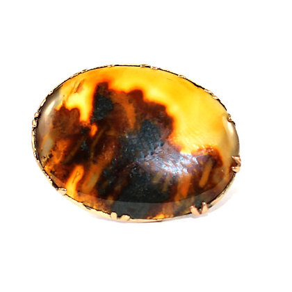 Georgian Agate Brooch