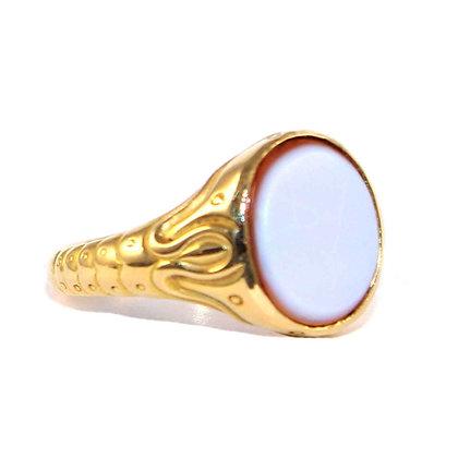 Victorian Carnelian Signet Ring