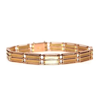 Antique Two Colour Gold Bracelet