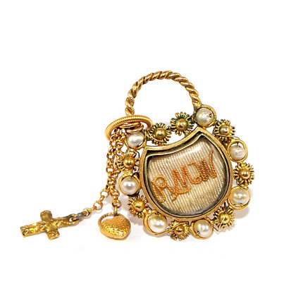 Georgian Padlock Brooch