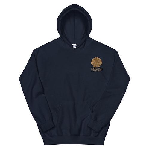 Gold Shell Logo Unisex Hoodie