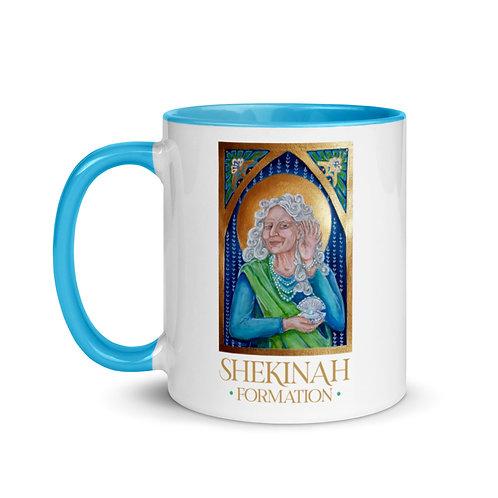 Shekinah Icon Mug with Color Inside