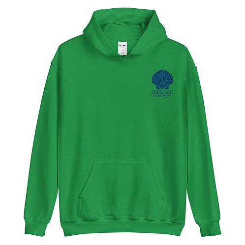 Blue Shell Logo Unisex Hoodie