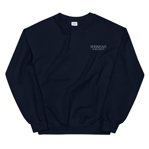 Shekinah Formation Embroidered Unisex Sweatshirt