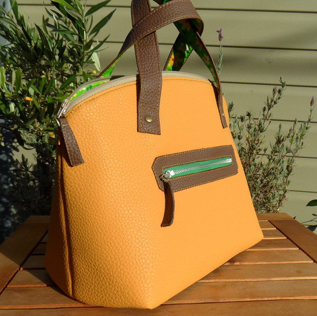 Handbag mustard