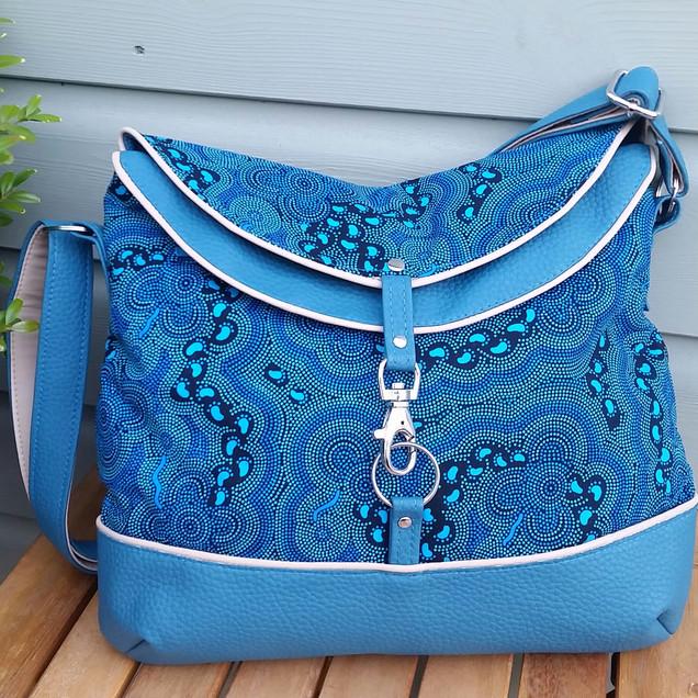 Hobo Bag, torquoise