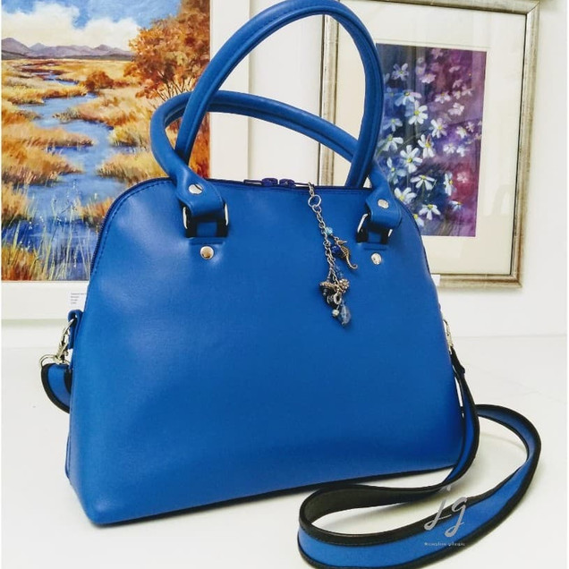 Lania Blue PU