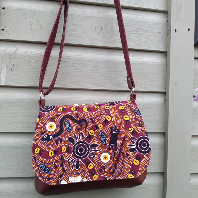 Messenger Bag, Brown