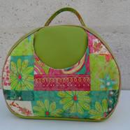 Olive Vintage look bag green