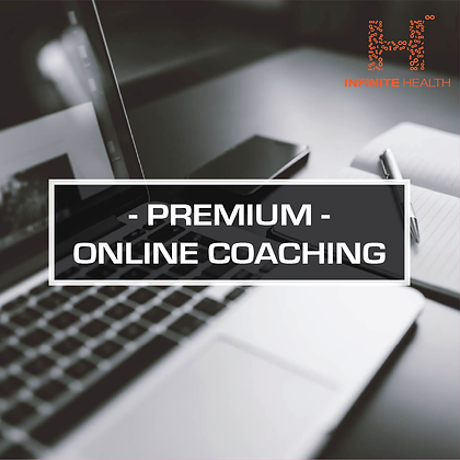 Premium Package 1 Month - Online Coaching
