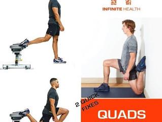 2 Quick Fixes: Quads Strain