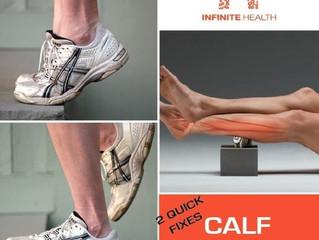 2 Quick Fixes: Calf Strain