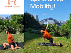 Spinal and Hip Mobility
