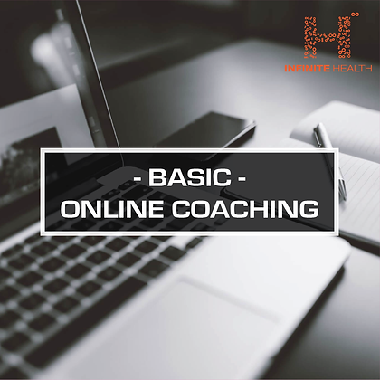 Basic Package 1 Month - Online Coaching
