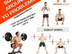 Squat Around Your Problems