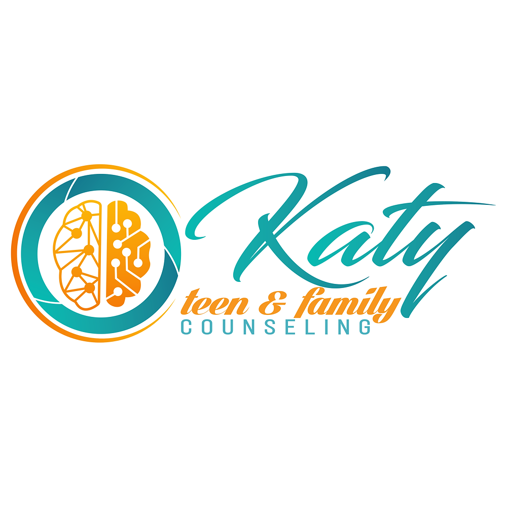 Logo for Katy Teen and Family Counseling. Providing therapy for families in katy, tx. He also provides emdr for teens katy, tx 77494.