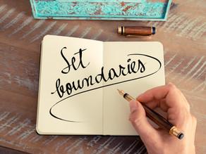 3 Steps in Creating Healthy Personal Boundaries