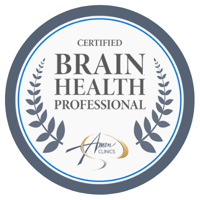 Seal for certified brain health professional. Providing marriage counseling katy, tx 77494 and couples counseling katy tx, 77494. Also providing teen therapy katy tx, 774944 and family therapy katy tx, 77494.
