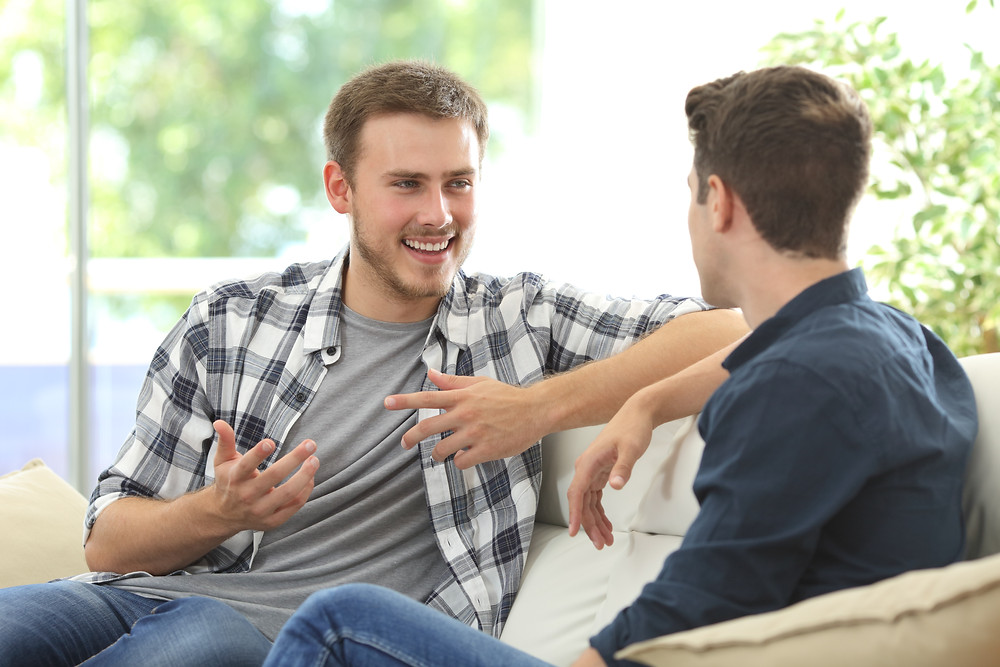 Adult and teen talking. Represents the need for family counseling. Also represents the need for depression therapist katy, tx and therapist for gifted students katy, tx 77494.