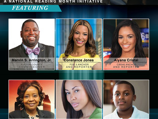 National Reading Month Mobilizes Business, Media and Political Leaders in Support of Atlanta Area St