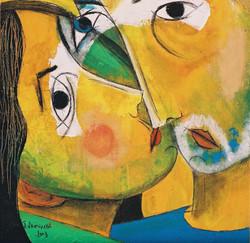 Yellow Couple