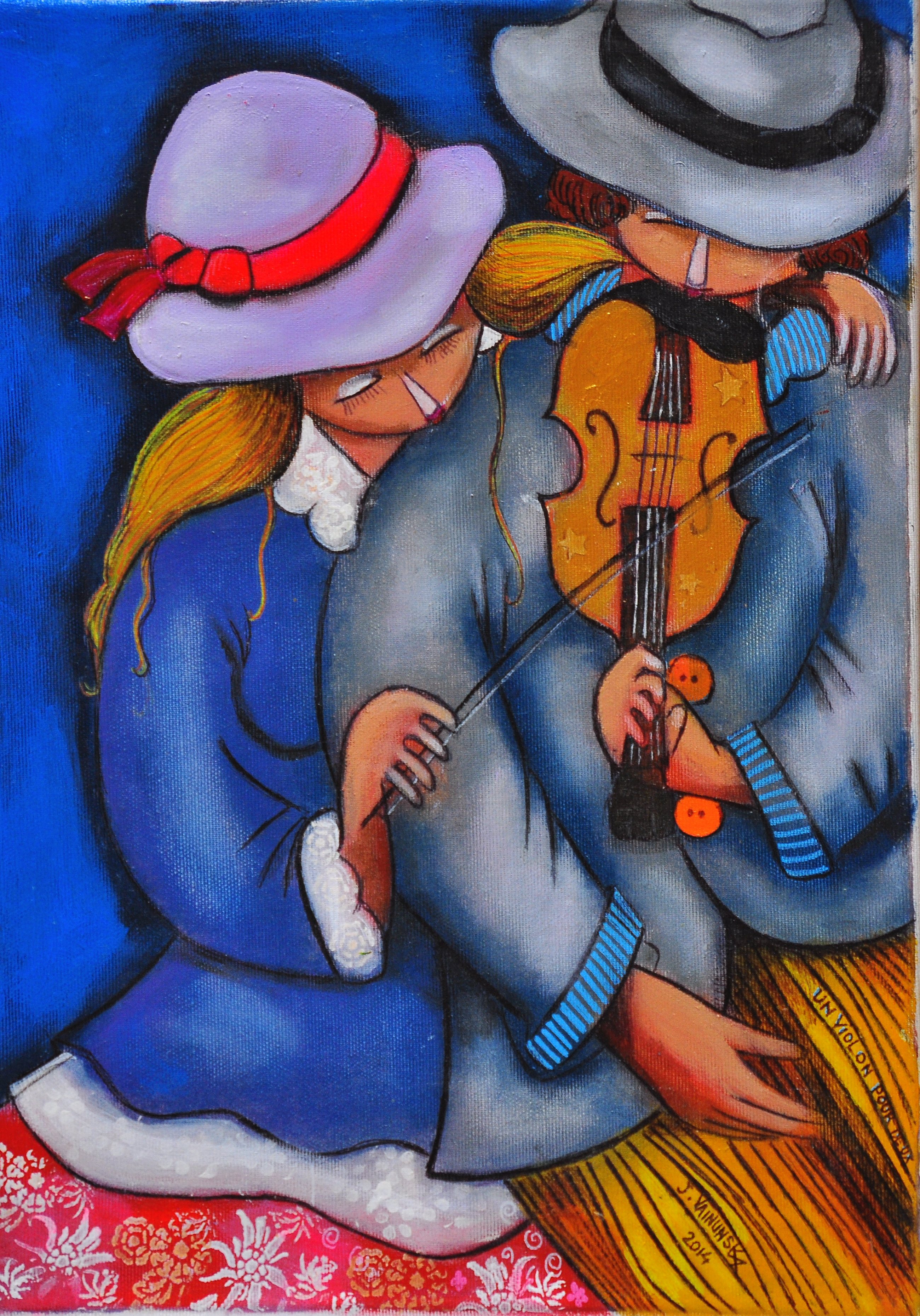 Violin for two